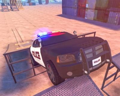 Police Drift &Stunt